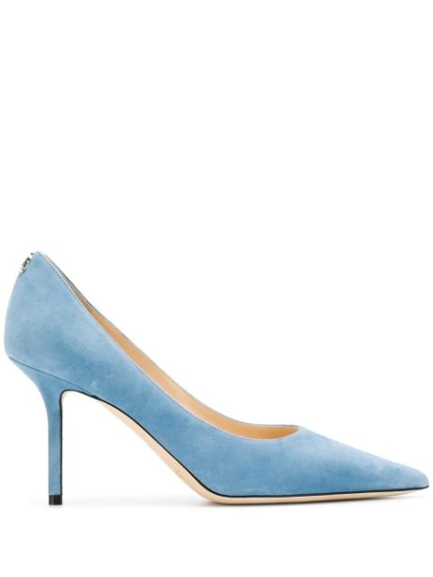 Jimmy Choo Love 85Mm Pointed-Toe Pumps Ss20 | Farfetch.com