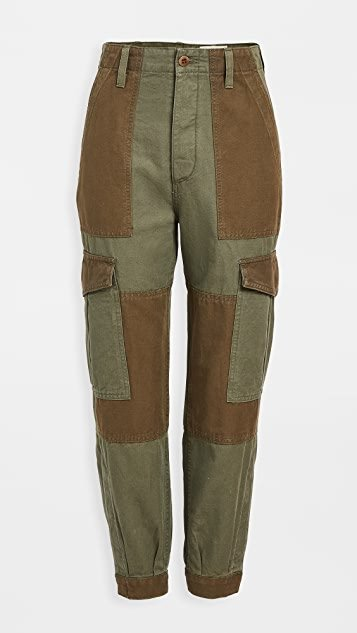 Greta Cuffed Leg Surplus Pants