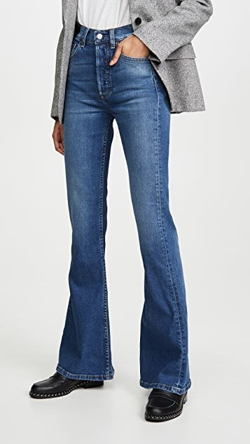 The Kingsley High Rise Comfort Stretch Flare Jeans
