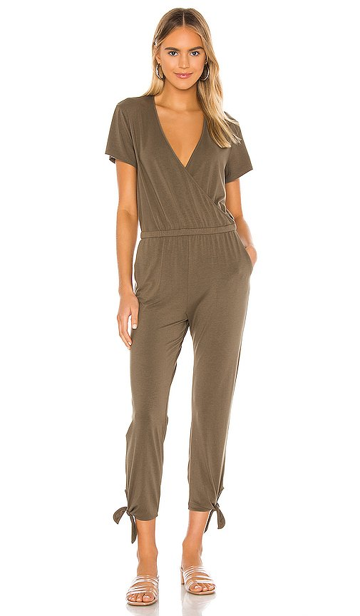 Draped Modal Jersey Jumpsuit