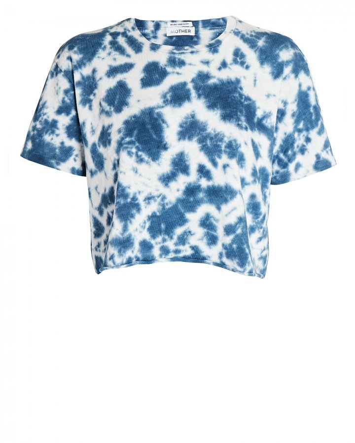 The Slouch Cutoff Tie-Dye T-Shirt