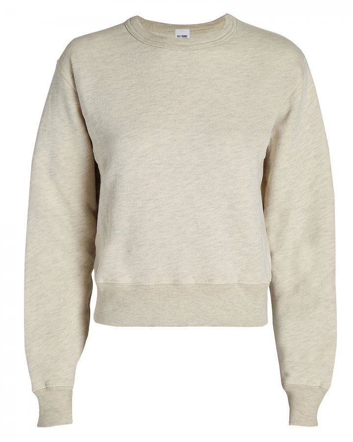 Classic Cotton Crewneck Sweatshirt