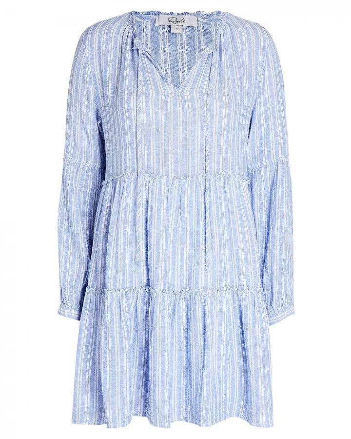 Everly Striped Mini Dress