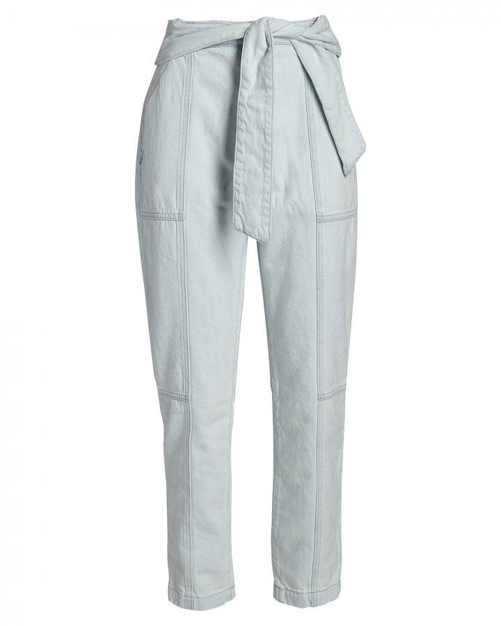 Henley Tie-Waist Jeans