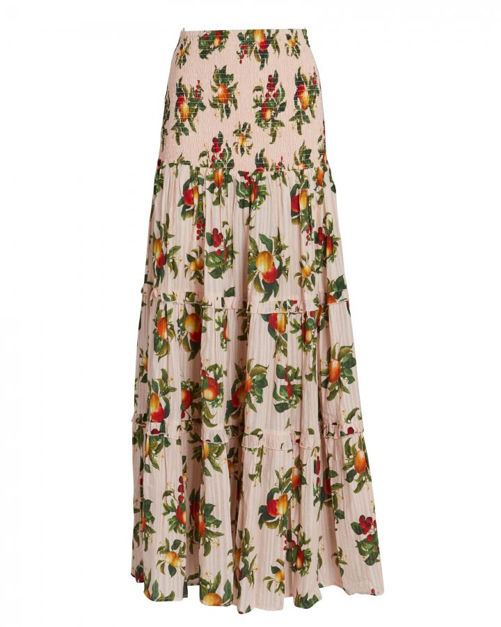 Lily Printed Maxi Skirt