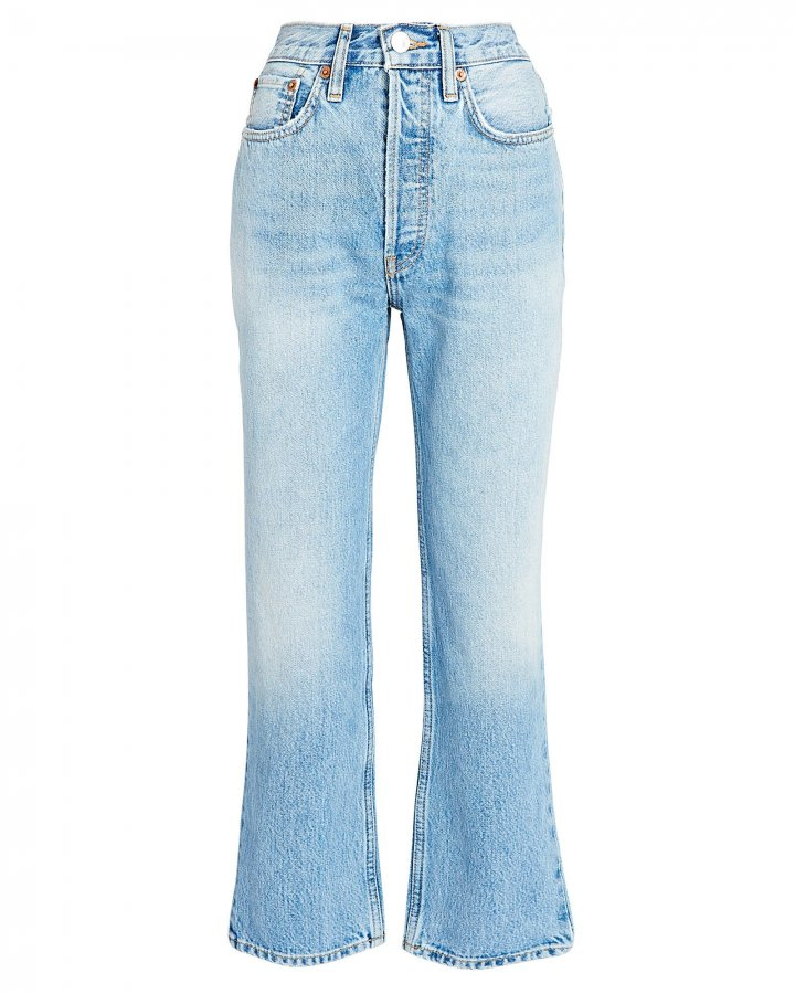 70s High-Rise Stove Pipe Jeans