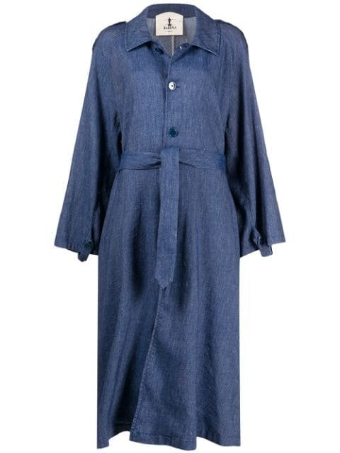 Barena Oversized Denim Coat