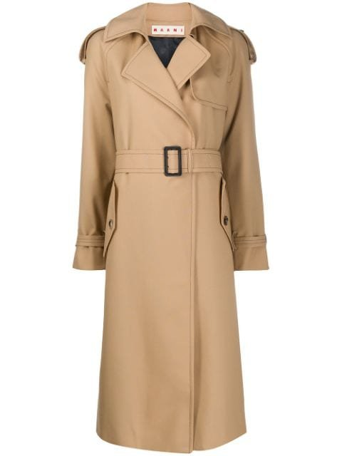 Marni Belted Trench Coat Ss20 | Farfetch.com