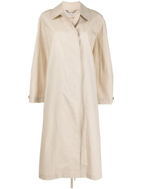 Stella McCartney single-breasted Trench Coat