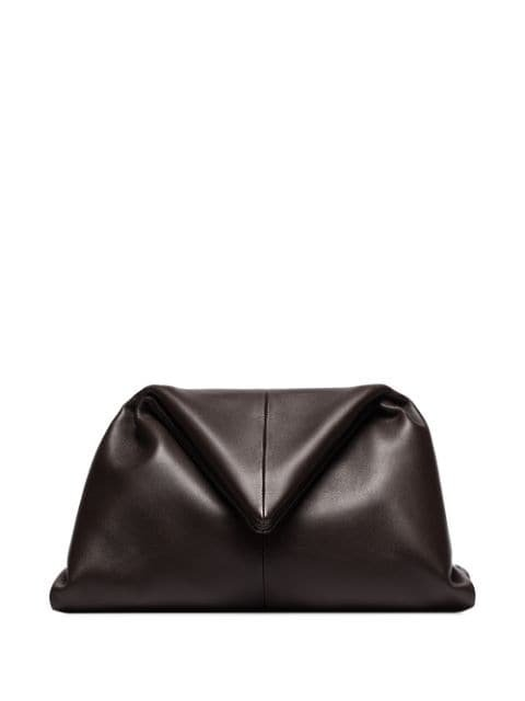 Bottega Veneta Ruched Envelope Clutch