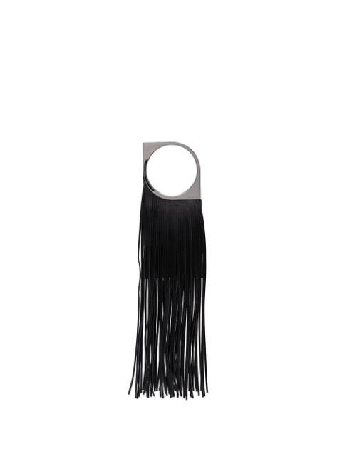 Paco Rabanne Fringed Leather Bracelet Bag