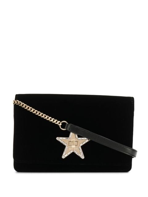 Jimmy Choo Palace Velvet Cross-Body Bag Ss20 | Farfetch.com
