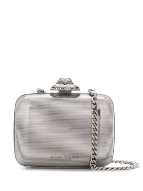 Alexander Mcqueen Branded Clutch Bag Ss20 | Farfetch.com