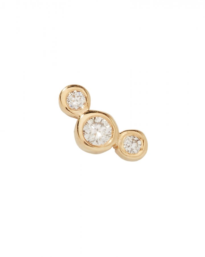 Graduated Diamonds Single Earring