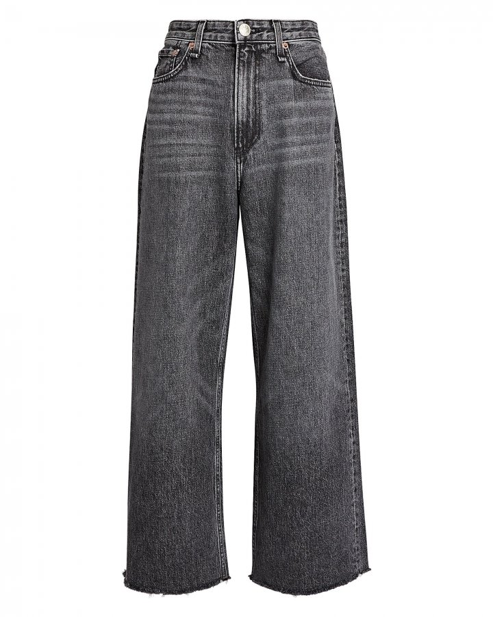 Ruth High-Rise Wide-Leg Jeans