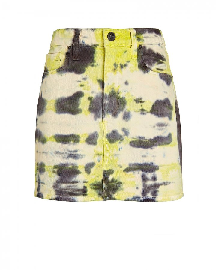 Viper Tie-Dye Denim Skirt