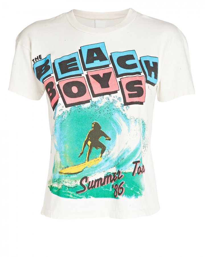 Beach Boys Cropped T-Shirt