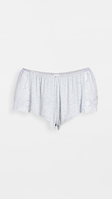 Venice Hipster Sleep Shorts with Lace Insets
