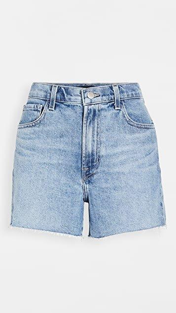 Jules High Rise Denim Shorts