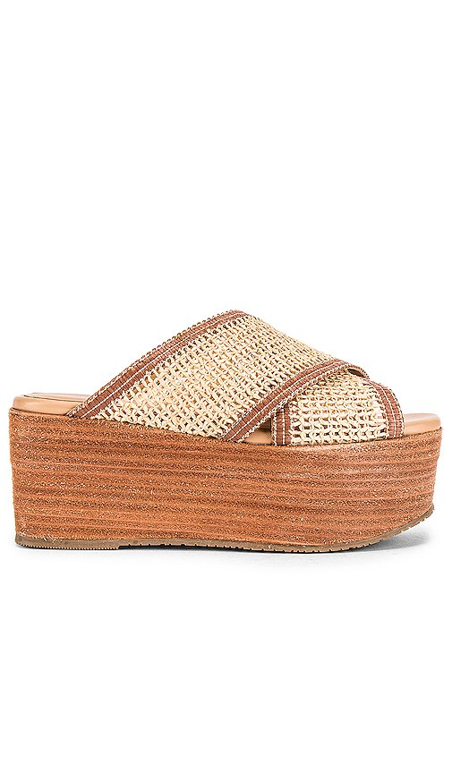 Formentera Cross Over Fishnet Wedge