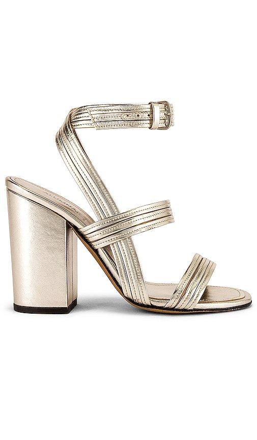 Stitched Mignon Block Heel