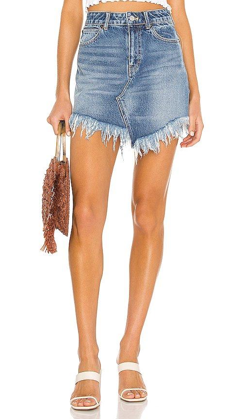 Bailey Denim Mini Skirt