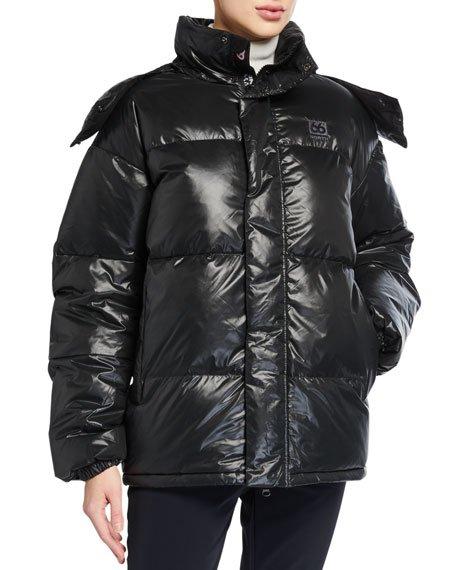 Dyngja Lightweight Down Jacket w/ Detachable Hood