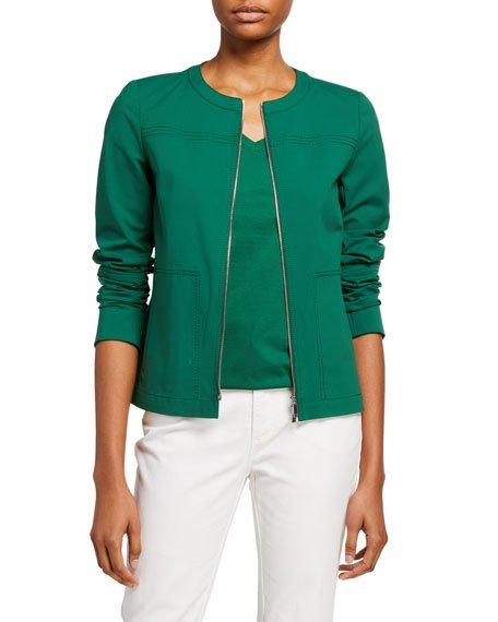 Juno Zip-Front Fundamental Bi Stretch Jacket