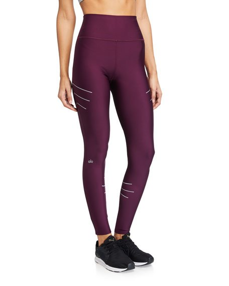 High-Waist Sequence Leggings