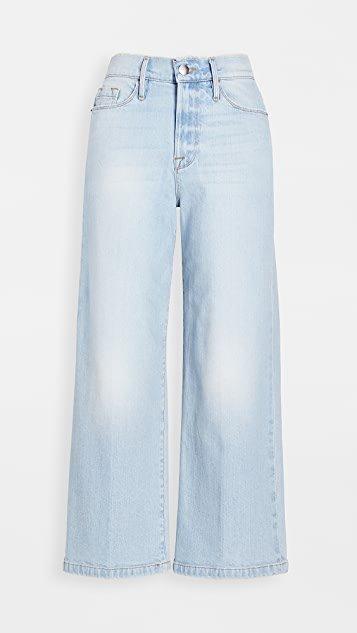 Ali Wide Crop Jeans