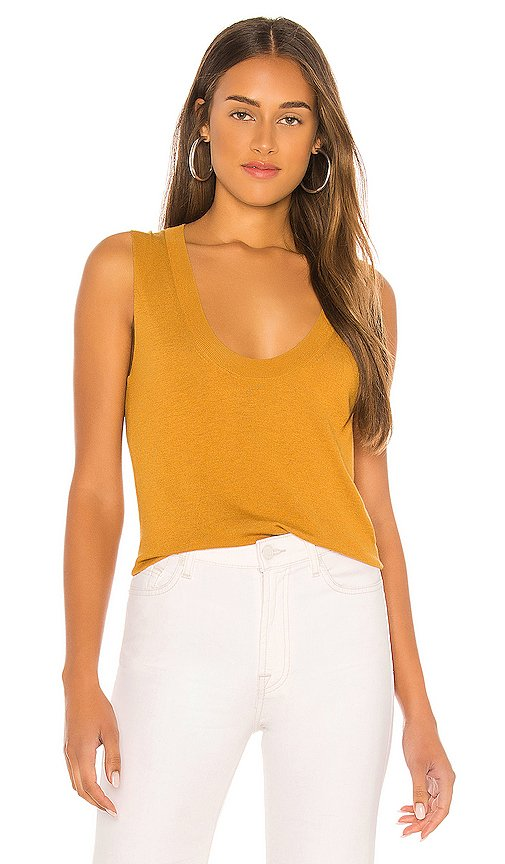 Cashmere Sweater Tank