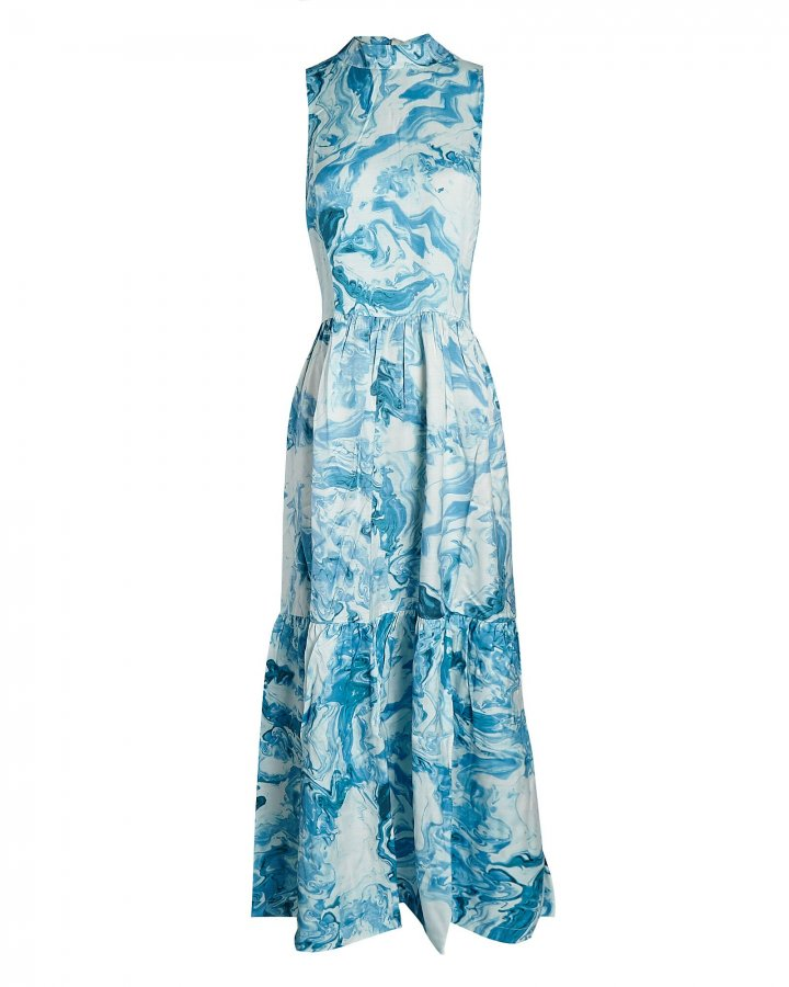 Tony Printed Maxi Dress