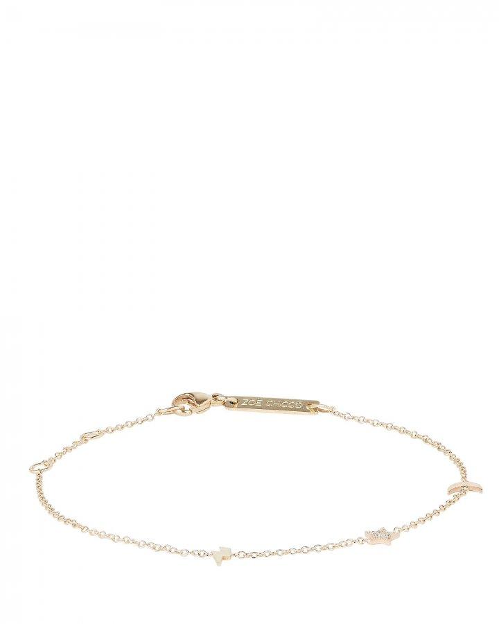 Itty Bitty Pavé Charm Bracelet