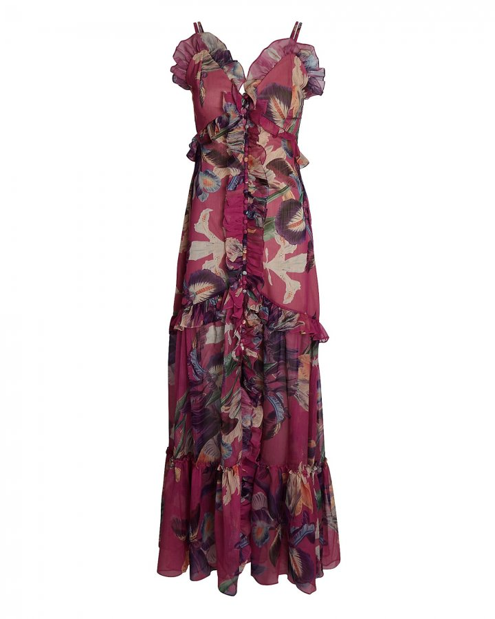 Grace Printed Convertible Maxi Dress
