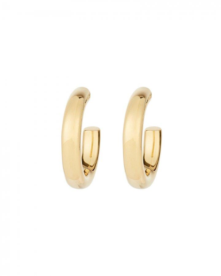 Small Tube Hoop Earrings