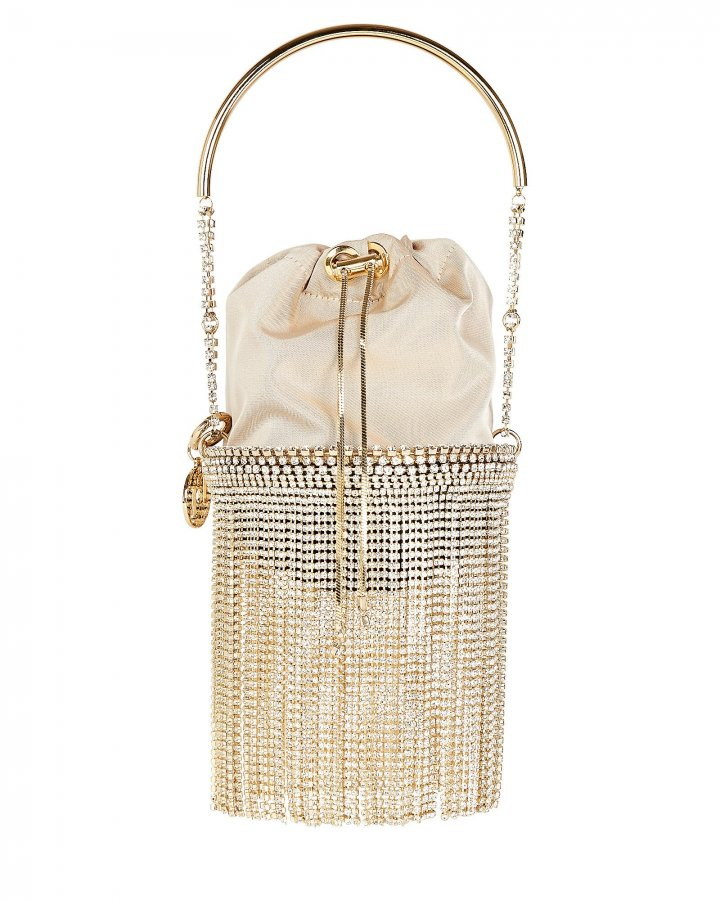 Kingham Fringed Crystal Bag