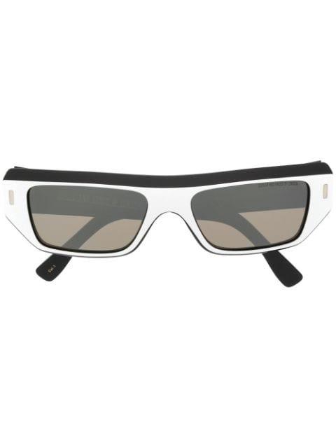 Cutler & Gross Geometric Tinted Sunglasses Ss20 | Farfetch.com