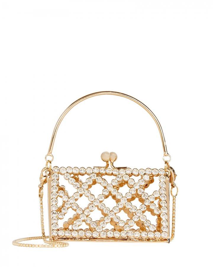 Baby Garofano Crystal Mini Bag
