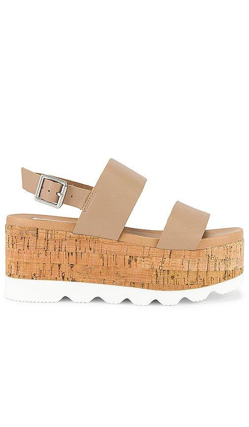 Hazy Flatform Sandal