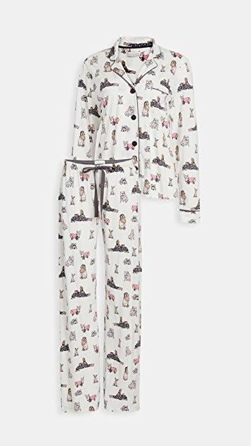 Paw Pajamas All Day PJ Set