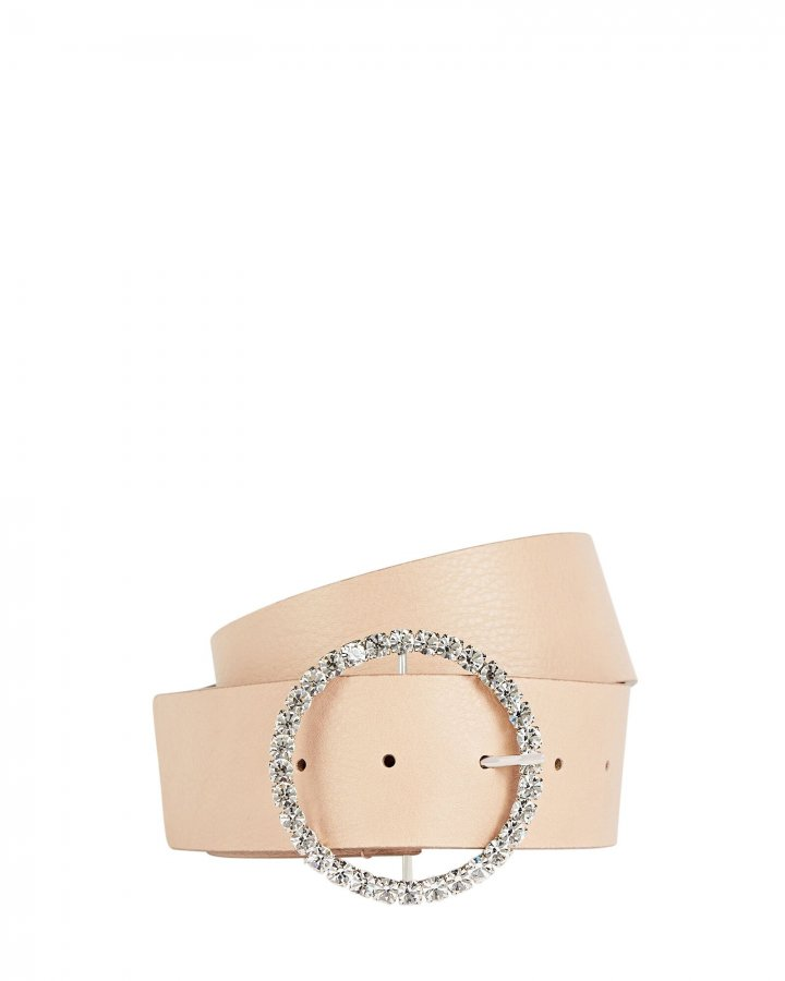 Cindy Crystal Buckle Belt