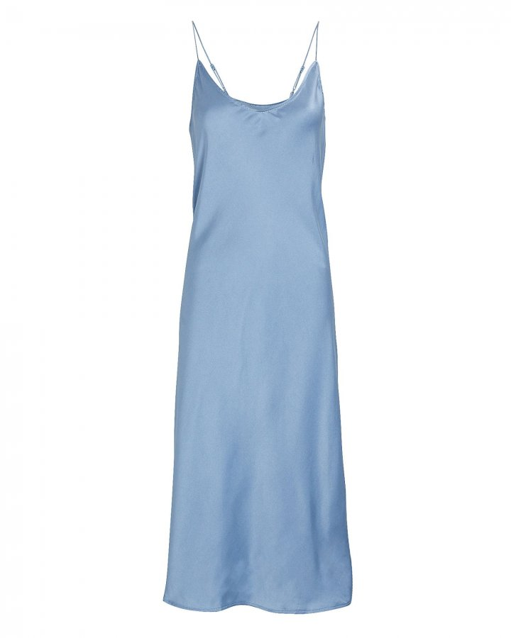 Terra Silk Slip Dress