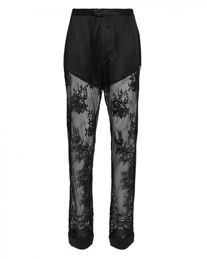 Cillis Silk Lace Pajama Pants