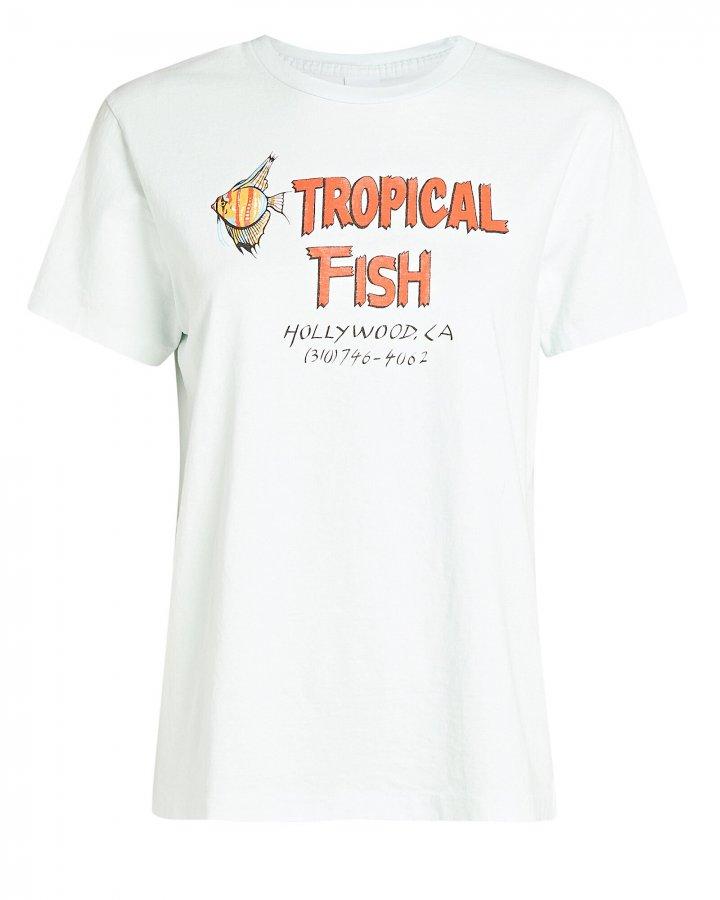 70s Loose Tropical Fish T-Shirt