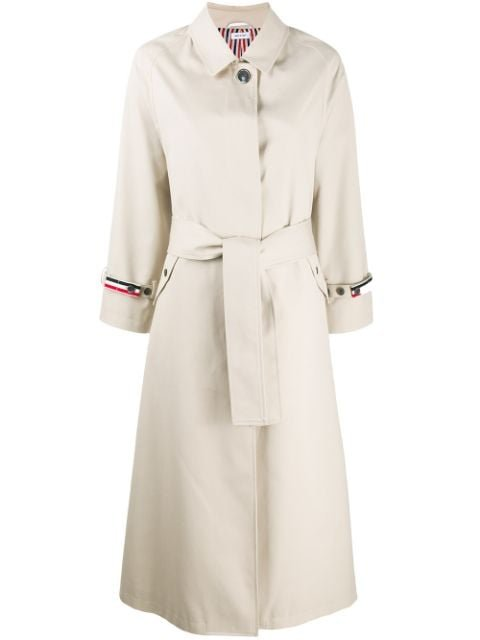 Thom Browne Waterproof Unconstructed Trench Coat Ss20 | Farfetch.com
