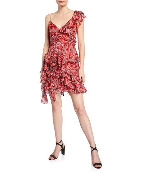 Enta Summer Night Print Dress