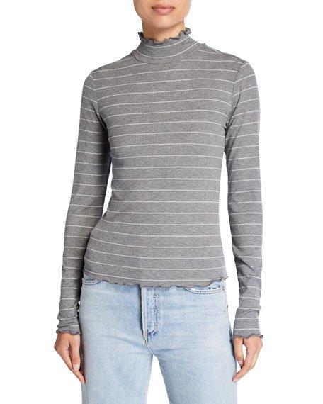 Cadence Shimmer Turtleneck Sweater