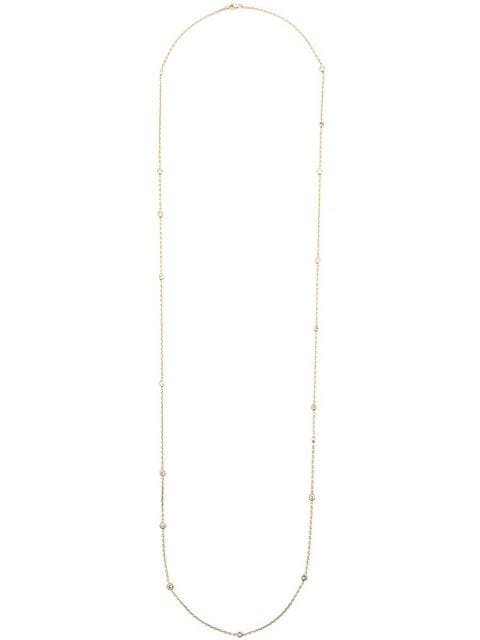 Kristin Hanson 14Kt Yellow Gold Dia By Yard Necklace Aw18 | Farfetch.com