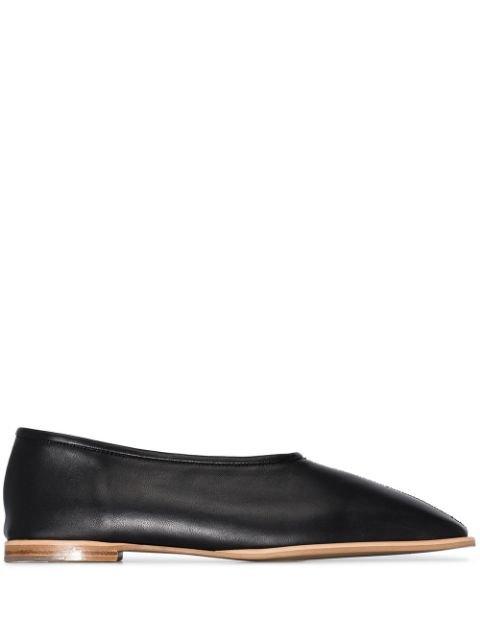Low Classic square-toe Flat Ballerina Shoes