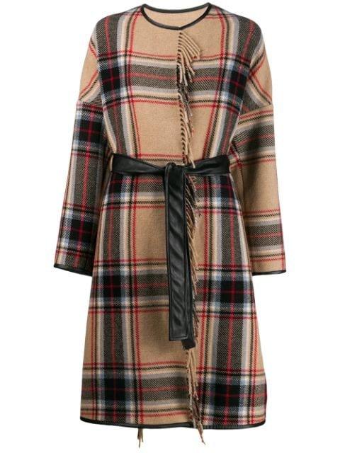 Pinko Costa Blanket Coat Aw19 | Farfetch.com